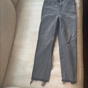 Made well classic straight jean with stripe